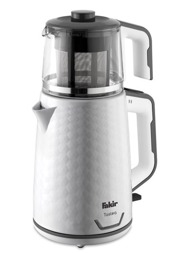 Fakir Tastea Çay Makinesi Beyaz - 2 Litre Beyaz